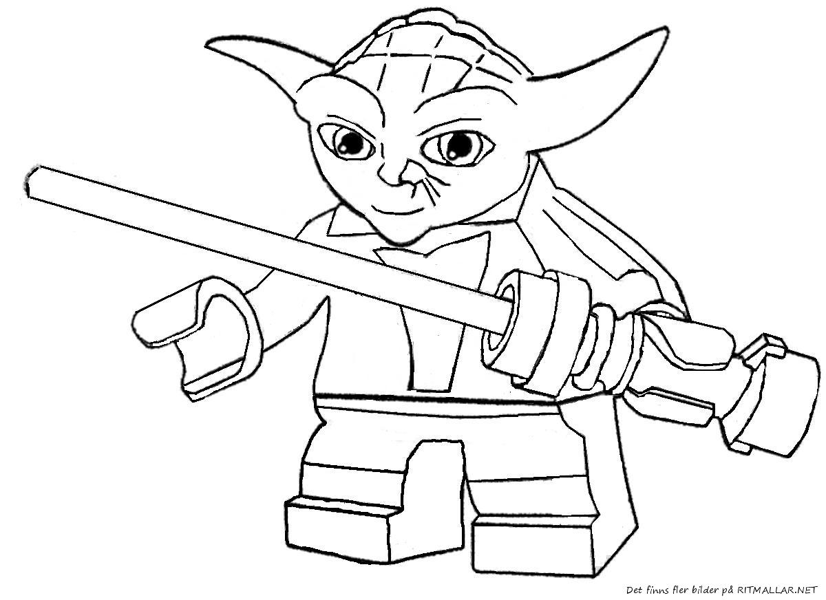 93 dessins de coloriage lego imprimer sur - Dessin a colorier star wars ...