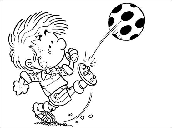 Sélection de dessins de coloriage football à imprimer sur LaGuerche.com - Page 1