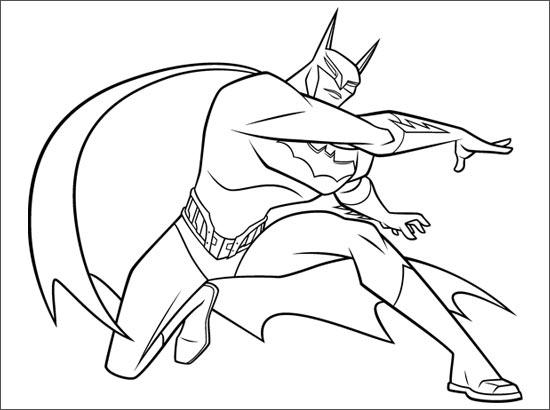Coloriage Batman Dessin Anime.310 Dessins De Coloriage Batman A Imprimer Sur Laguerche Com Page 34