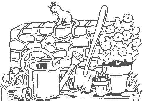 33 dessins de coloriage jardin imprimer sur page 4 for Image de jardin a imprimer