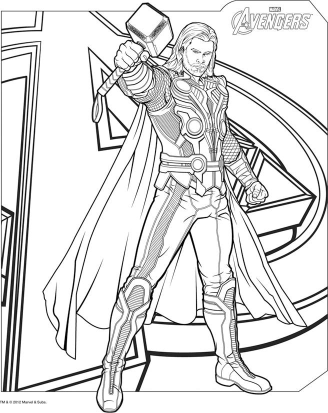 160 dessins de coloriage avengers imprimer sur laguerche - Dessin anime avengers ...