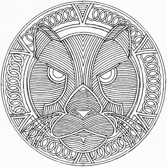 Coloriage Mandala Difficile A Imprimer.66 Dessins De Coloriage Mandalas Difficile A Imprimer Sur Laguerche