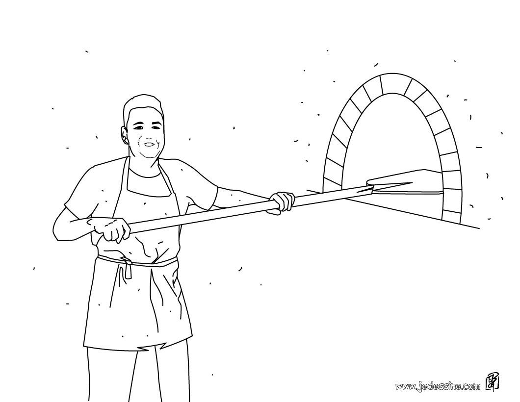 23 dessins de coloriage boulanger imprimer sur laguerche for Conception cuisine boulanger