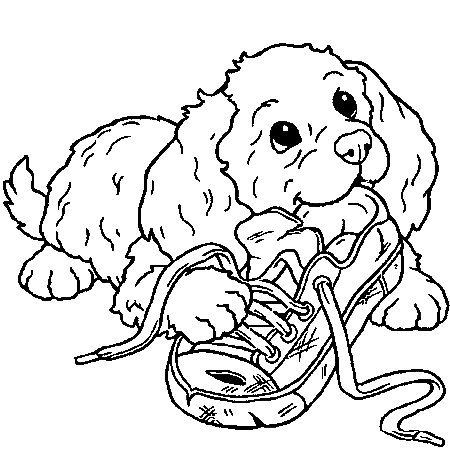 Chiot Dessin sélection de coloriage chiot à imprimer sur laguerche - page 4