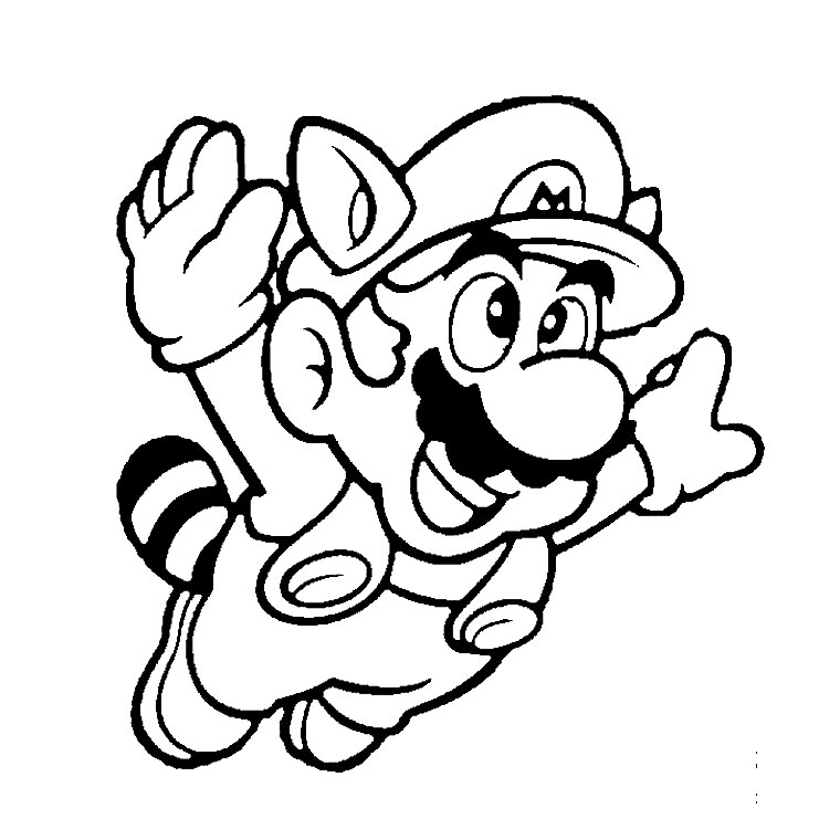 80 dessins de coloriage super mario bros imprimer sur page 1. Black Bedroom Furniture Sets. Home Design Ideas