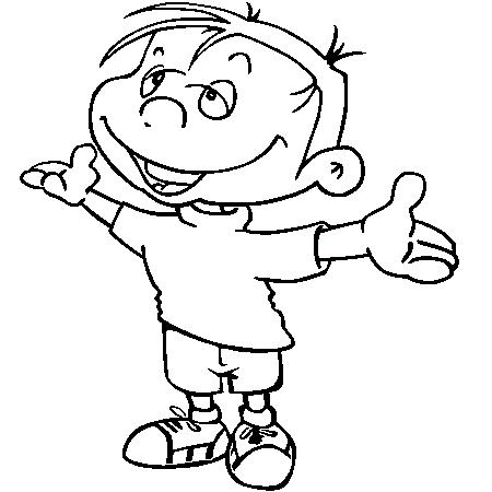 33 dessins de coloriage gar on imprimer sur page 1 - Dessin pour petit garcon ...