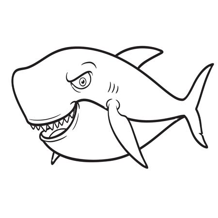 S lection de coloriage requin imprimer sur - Coloriage de requin a imprimer ...